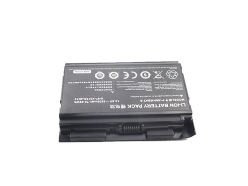 Laptop Battery For CLEVO X510S X511 P150 P151 P150HMBAT-8 6-87-X510S 14.8V 5200mAh New and Original