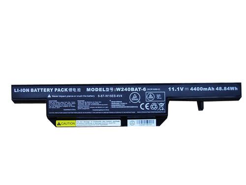 Battery For CLEVO W251EU W252EU W255EU W255HS W255HU W258EU RM320 W251EL 7872-9040/A W240BAT-6 6-87-W15ES-4V4 New and Original