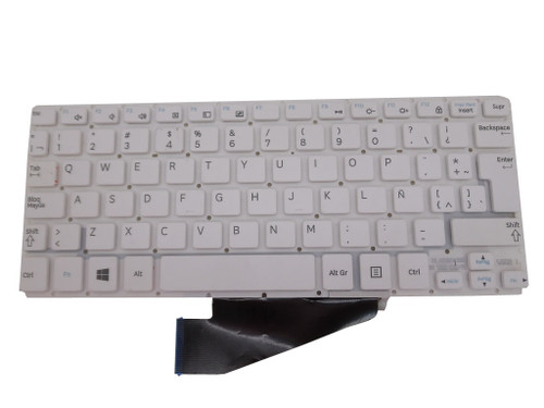 keyboard F0R Samsung ATIV Tab 3 XE300TZC XQ300TZC 3000TC HMB3708GSA White Latin America LA New Original