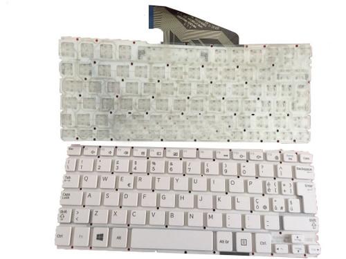 keyboard F0R Samsung ATIV Tab 3 XE300TZC XQ300TZC 3000TC HMB3708GSA White Italy IT New Original