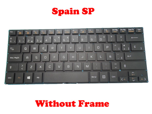 Laptop Keyboard For LG 13U360 13U360-E 13U360-L 13UD360 13UD360-L LG13U36 LGM15C26E0-161 Black Spain SP