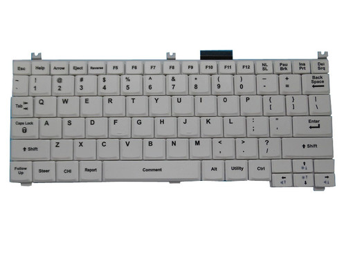 For GE Healthcare Ultrasound Keyboard LOGIQ E R6 R5.0 R5.2 White English US Keyboard