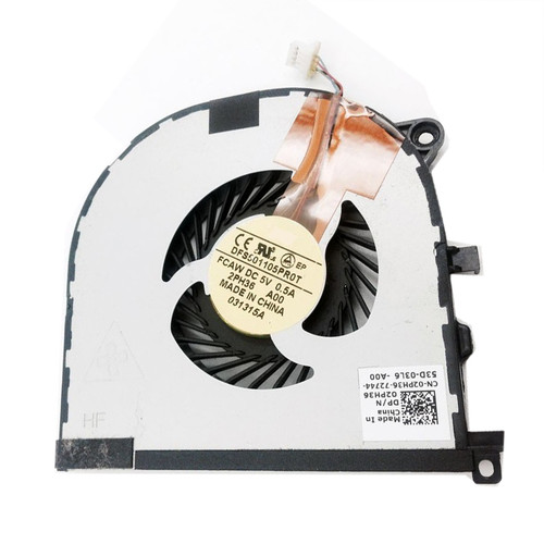 Laptop Cooling Fan For DELL XPS 15 9530 Precision M3800 P31F DFS501105PR0T FCAW 02PH36 2PH36 DC28000DQF0 new