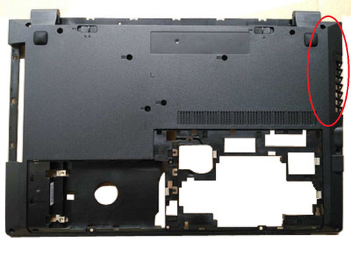 Laptop Bottom Case For Lenovo B51-30 B51-35 B51-80 B50-70 B50-80 305-15IHW 305-15IBD 305-15IBY 305-15ABM B50-30 B50-30T B50-30 Touch B50-45 90205530 AP14K000410 Lower Case With Fan Port New