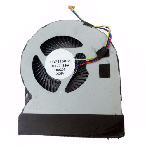 Laptop Cooling Fan For DELL Precision 7510 7520 M7510 M7520 P53F EG75150S1-C020-S9A DC5V 0.44A new