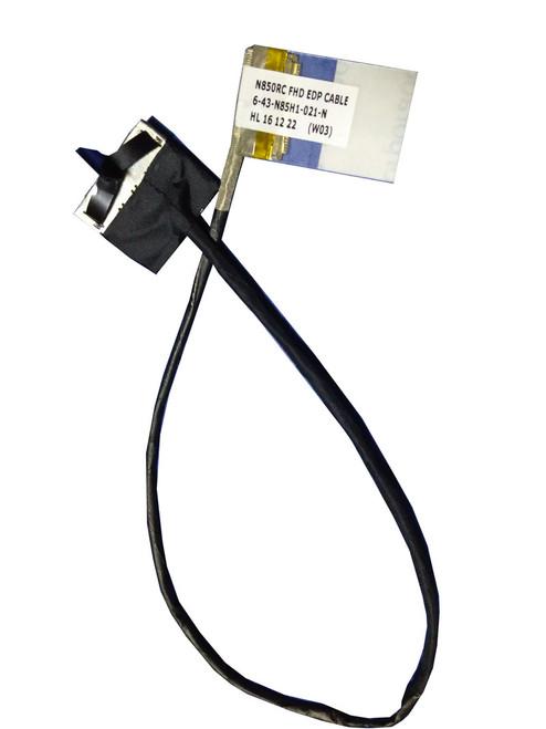 Laptop LCD Cable For CLEVO N850HJ N850RC 6-43-N85H1-021-N 6-43-N85H1-020-1N 6-43-N85H1-020-2S FHD EDP New Original