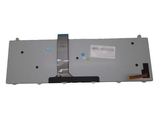Laptop Keyboard For CLEVO P157SM P177SM Backlit Nordic NE V132150BK3