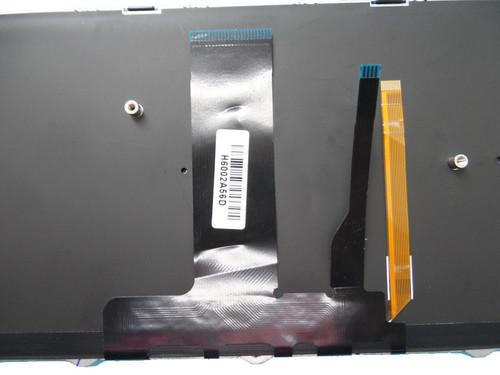 Laptop Keyboard For CLEVO N850 CVM15F26DKJ4309 6-80-N85H0-030-1 Danish DM With Black Frame And Backlit