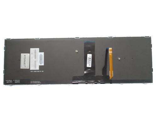 Laptop Keyboard For CLEVO N850 CVM15F26TQJ430E 6-80-N85H0-252-1 Turkey TR With Black Frame And Backlit