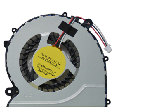 Laptop CPU FAN For Samsung NP370R5E 370R4E 370R5E 450R4V 450R5V BA31-00115A DFS531005FL0T-FC7B New Original
