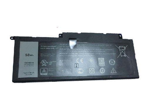 Laptop Battery For DELL Inspiron 15 7000 7537 P36F F7HVR 14.8V 58WH 3800mAh new