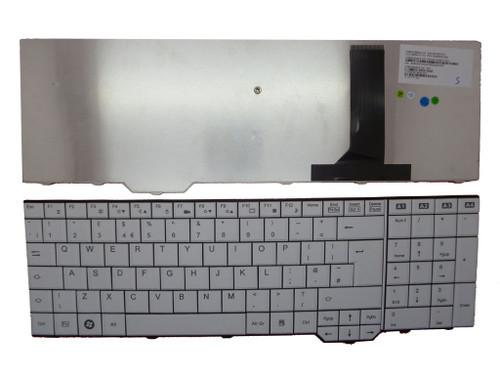 Laptop Keyboard for Fujitsu Amilo PI3625 XA3520 XA3530 XI3650 XI3670 LI3910 V080329BK4 860N71103 10600931056 90.4H907.U00 V080305AK2 Swiss SW White New and Original
