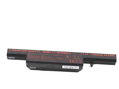 Laptop Battery For CLEVO W55EU W54EU  W540EU W550EU W540BAT-6 6-87-W540S-427 11.1V 4400mAh 44.84WH New and Original