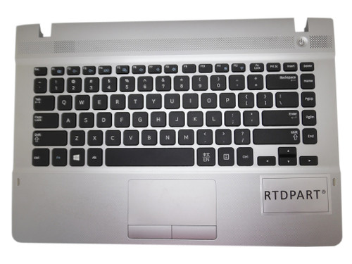 Laptop PalmRest&keyboard For Samsung NP270E4V 270E4V English US BA75-044342 Case Cover With Touchpad Speaker Silver New