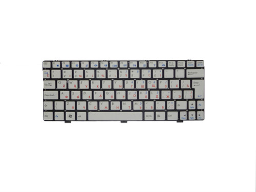 Laptop Keyboard For DNS 0144442 0144443 0144444 0158631 Russia RU White Without Frame New