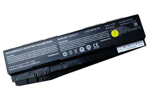 Laptop Battery For CLEVO N850 Z6-KP5GT Z7-KP7G1 N850BAT-6 Z7M-KP5S1 6-87-N850S-4C4 New and Original