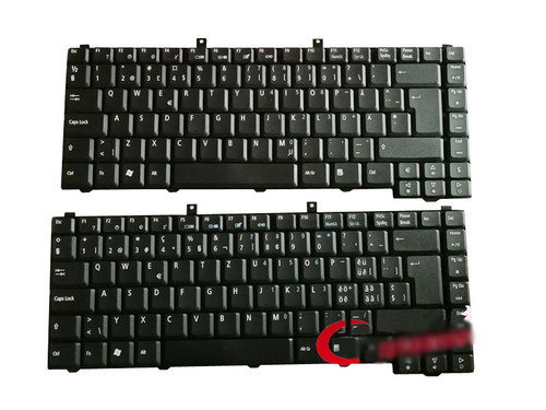 Laptop Keyboard For ACER 99.N5982.C0G NSK-H3M0G GR 99.N5982.C00 NSK-H3M00 SW Swiss