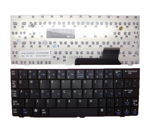 Laptop Keyboard For DELL Inspiron Mini 9 910 Vostro A90 PP39S Simple Chinese CN PK130540110 V091602AS1 99%new
