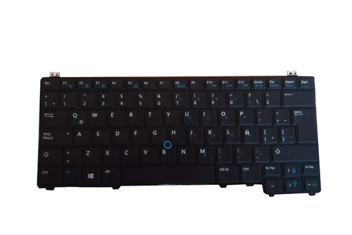 Laptop Keyboard For DELL Latitude E5440 P44G Spanish SP 0Y0RKP black with backlit&Pointing