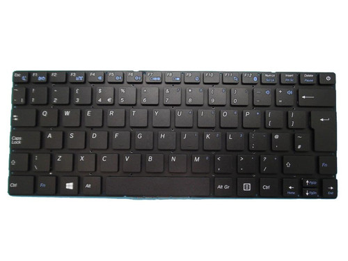 Laptop Keyboard 641100184031 V1383AIEK TOP VER01 United Kingdom UK Without Frame