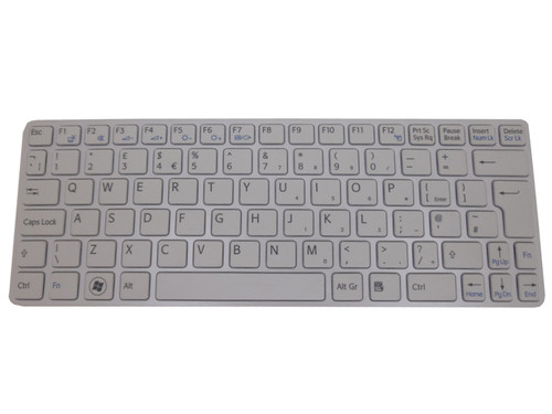 Laptop Keyboard For SONY VAIO SVE11 HMB8812NFD102A 149036911GB 550121HB1G1-212-G United Kingdom UK white with frame