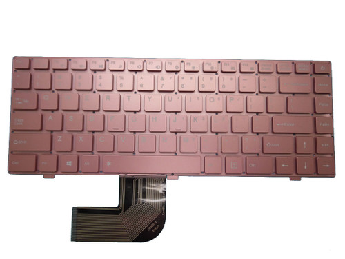 Laptop Keyboard For Jumper For EZbook X4 K621US JM300-2 YJ-485 14 Inch English US Rose Gold