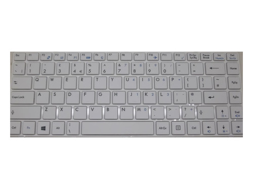 Laptop Keyboard For MSI A4800 A4805 CR41 0M CR410 CR41-i587 CX41 1AC CR42 2M CR420MX CR420X CR43 6M CR430 CR460 CR480 CX420MX CX420X CX480-IB32312G50SX United Kingdom UK With White Frame