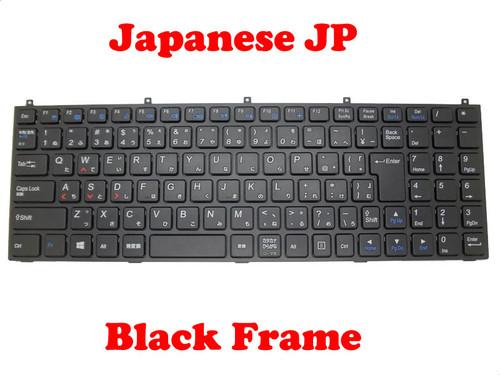Laptop Keyboard For CLEVO M980NU MP-08J40J0-4304W 6-80-P15S0-210-1 P151SM Japanese JP Black Frame/Without Frame