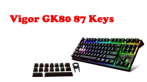 Mechanical Gaming Keyboard For MSI For Vigor GK80 Cherry MX RGB (87 Keys) New Original