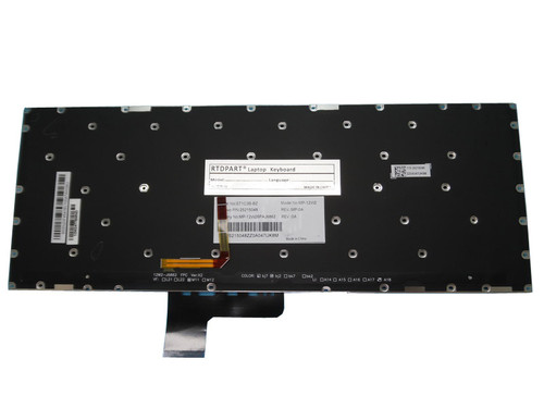 Laptop Keyboard For Lenovo Yoga 2 13 YOGA 3 14 U31-70 500S-13ISK Netherlands NL Black With Backlit New