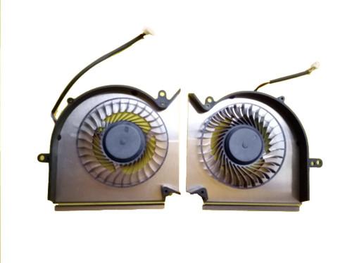 Laptop CPU Cooling/GPU Fan For MSI GE63 GP63 GL63 GE63VR RTX20 PAAD06015SL N417 PAAD06015SL N384 MS-16P1 MS-17C1 GTX1070M 1070 New and Original