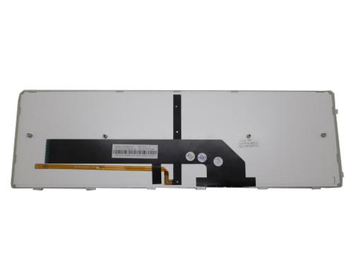 Laptop Keyboard For Gigabyte P35G V2 P35G V2-5 P35K P35K V3 P35W V2 P35W V3 P35W V4 P35W V5 English US With Silver Frame And Backlit