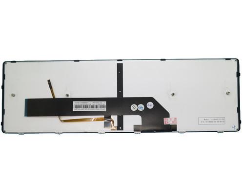 Laptop Keyboard For Gigabyte P35 Series V142645DK1 2Z703-CZP35-S10S Czech CZ With Black Frame And Backlit
