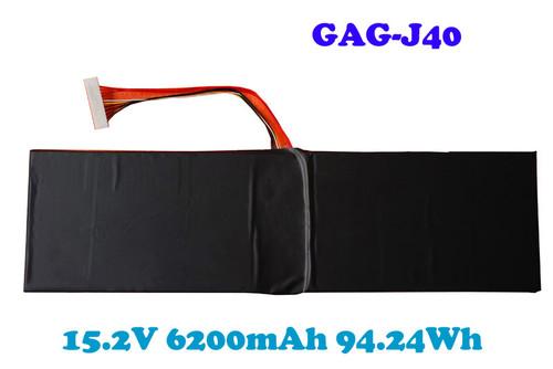 Laptop Battery For Gigabyte For AERO 14 15 15X 14-K7 15-X9 15-Y9 GAG-J40 541387460005 15.2V 6200mAh 94.24Wh New and Original