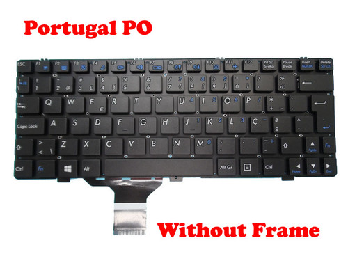 Laptop Keyboard For CLEVO M1110 M1110Q M1111 M1115 MP-08J66P0-4303W 6-80-W3100-151-1 Portugal PO Without Frame