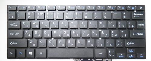Laptop Keyboard For DIGMA EVE 1400 ET1106EW 14 Black Russian RU