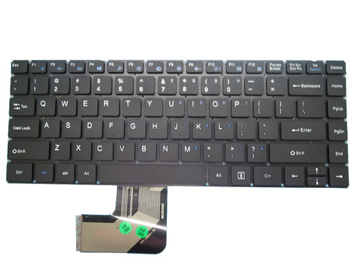 Laptop Keyboard For Teclast F6 Pro MB2903009 PRIDE-K3058 YXT-NB93-79  English US Black