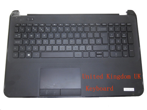 Laptop PalmRest&keyboard For HP 15-D000 747140-031 1A32H8400600G Black Frosted C Shell With Black Keyboard United Kingdom UK
