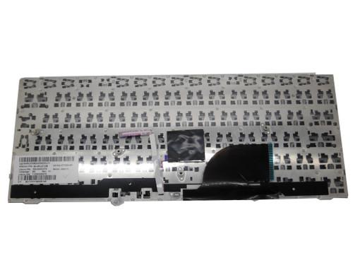 Laptop Keyboard For HP EliteBook 2170p SG-49400-27A SN8111 693362-261 90.4RL07.I0B 677590-261 With Pointing Stick With Sliver Frame Black Bulgaria BG