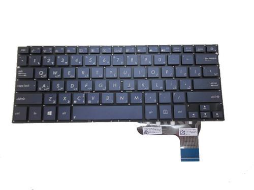 Laptop Keyboard For ASUS UX302 UX302L UX302LA UX302LG blue FS Farsi 9Z.N8JBU.90P 0KNB0-3629FS00 0KN0-QF1FS13 NSK-UQ90P