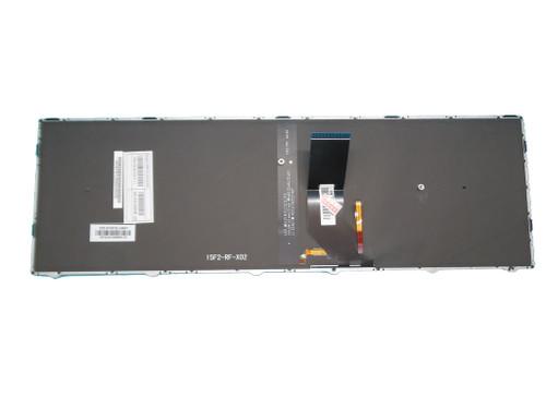 Laptop Keyboard For CLEVO N350DV N350DW N550RC1 N550RN N551RC N650DU N750BU N751BU Japan JP With White Frame And Backlit