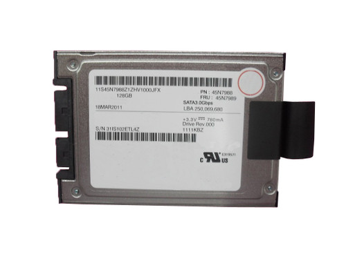"Hard Drive HDD For Lenovo Thinkpad T400S T410S X300 X301 45N7989 45N7988 64Y6652 45N8001 45N8203 45N8075 45N7953 uSATA SDD 128G 1.8"" 5mm 3Gb/s New Original"
