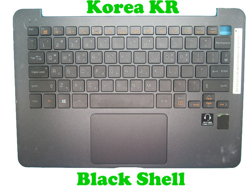 Laptop 95% New Black PalmRest+Black Keyboard For LG 13Z940 13Z940-G 13Z940-L 13Z940-M LG13Z94 MBN63130401 White Korea KR With Touchpad