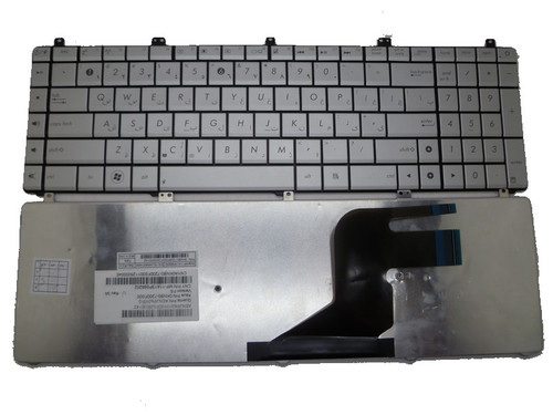 Laptop Keyboard For ASUS N55S N55SL N55SF Sliver MP-11A13PS69202 AENJ5%01010 FS Farsi 0KNB0-7200FS00