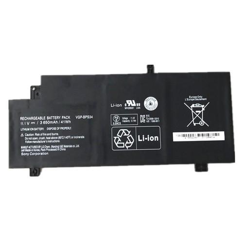 Laptop Battery For SONY VGP-BPS34 Fit 14 15 SVF14A SVF15A Series SVF15A1ACXB SVF15A1ACXS SVF14AC1QU SVF14A18SC 11.1V 41WH 3650mAh new