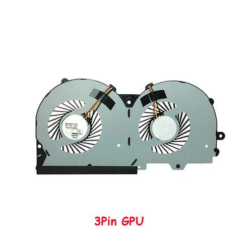 Laptop 3Pin GPU Fan For CLEVO P950 P955HQ3 P950HR P950ER P955HR P957HR BS500HS-U3D DC5V 0.50A New