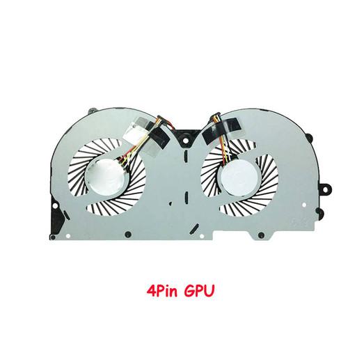 Laptop 4 Pin GPU Fan For CLEVO P950 P955HQ3 P950HR P950ER P955HR P957HR BS500HS-U3D DC5V 0.50A New