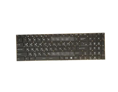 Laptop Backlit Keyboard For MSI GS60 GS70 GT62 GT72 GS72 GS62 GF72VR Korea KR Without Frame V143422AK1