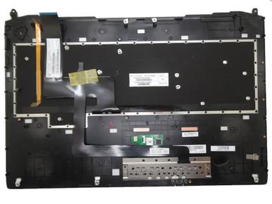GAOCHENG Laptop Palmrest/&Keyboard for ASUS G750 G750JH G750JW G750JX G750JS G750JY G750JZ G750JM C Shell Black Keyboard with Backlit GK Greek MP-12R33GKJ528W 0KN0-P41GR12 0KNB0-E600GR00