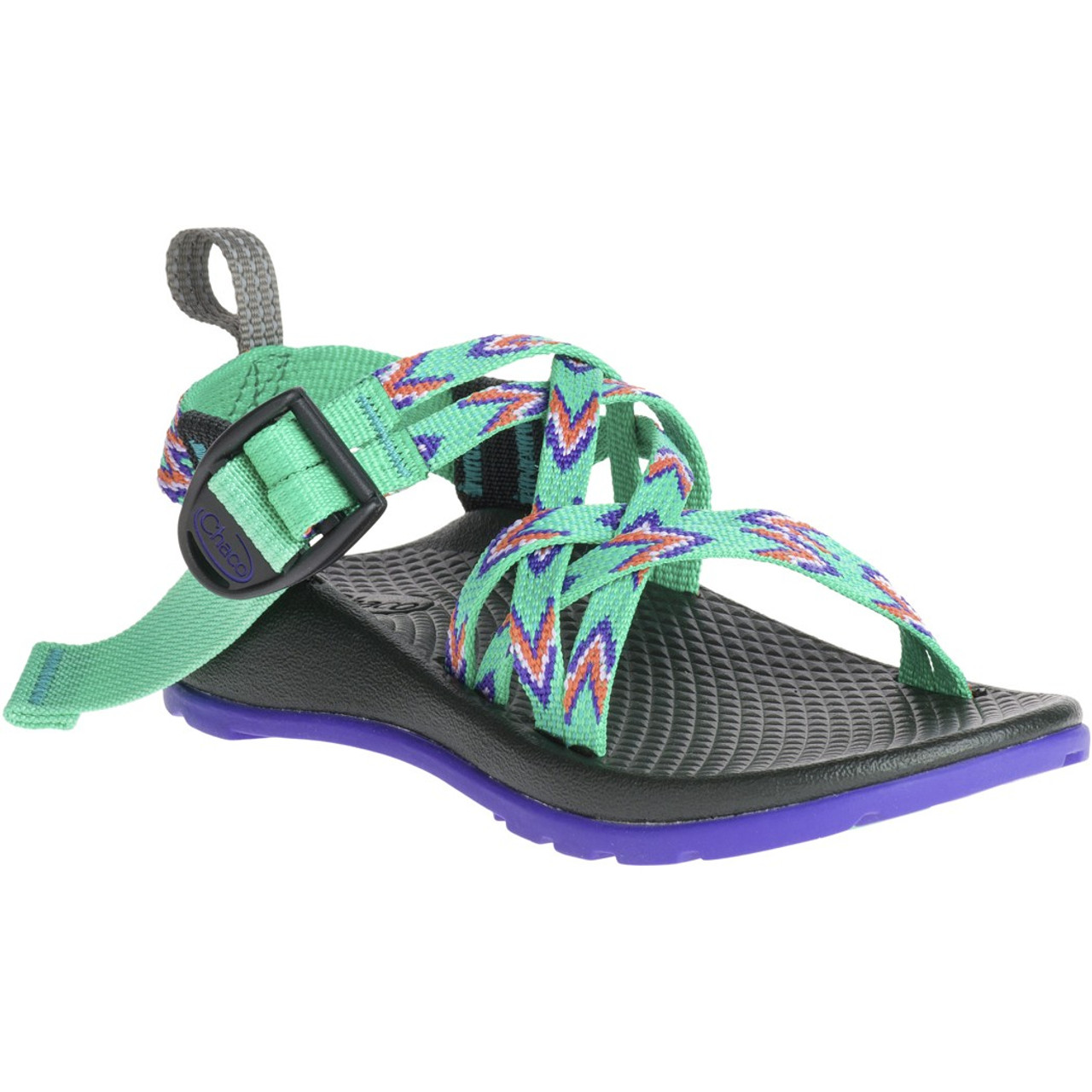e5e6b1e0b074 Chacos Kid s Sandals - ZX 1 Ecotread - Mint Leaf - Surf and Dirt